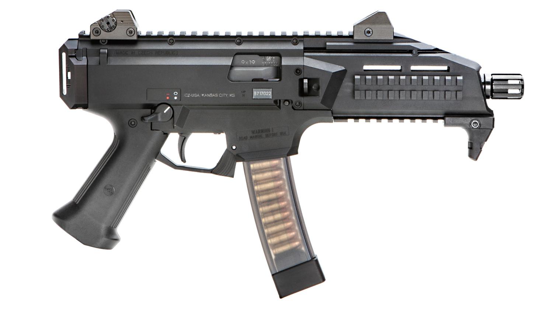 NRA Gun of the Week: CZ Scorpion EVO 3 S1 Pistol