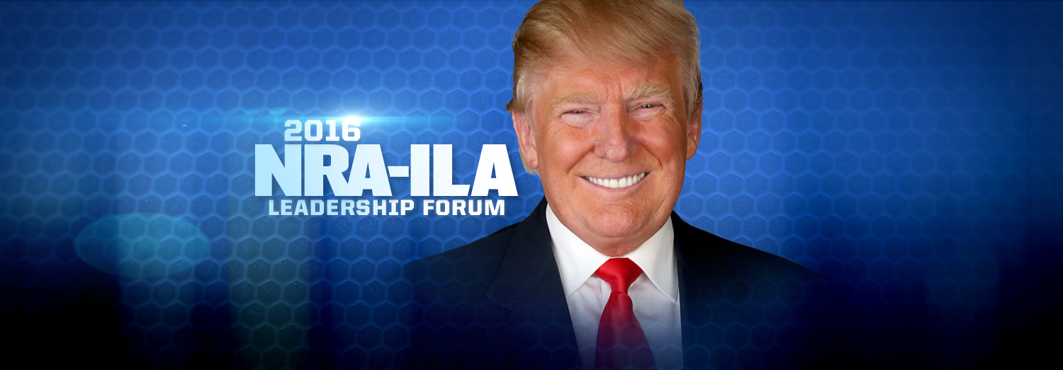 Watch: NRA Endorses Donald Trump for President