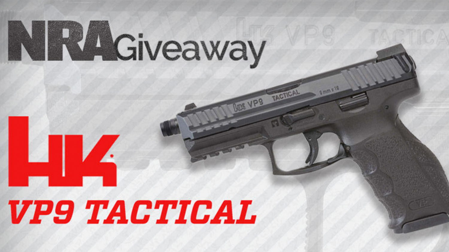 Heckler & Koch VP9 Tactical Giveaway