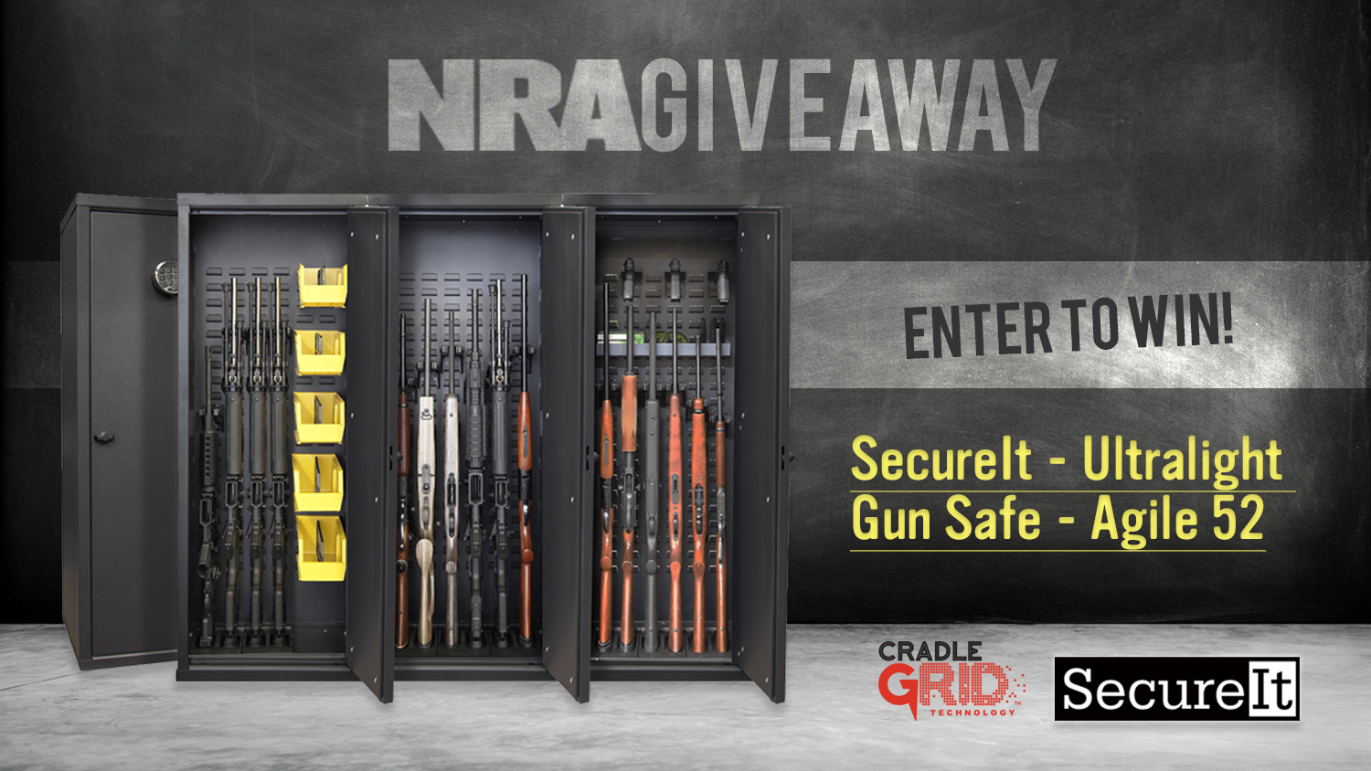 SecureIt Tactical Giveaway