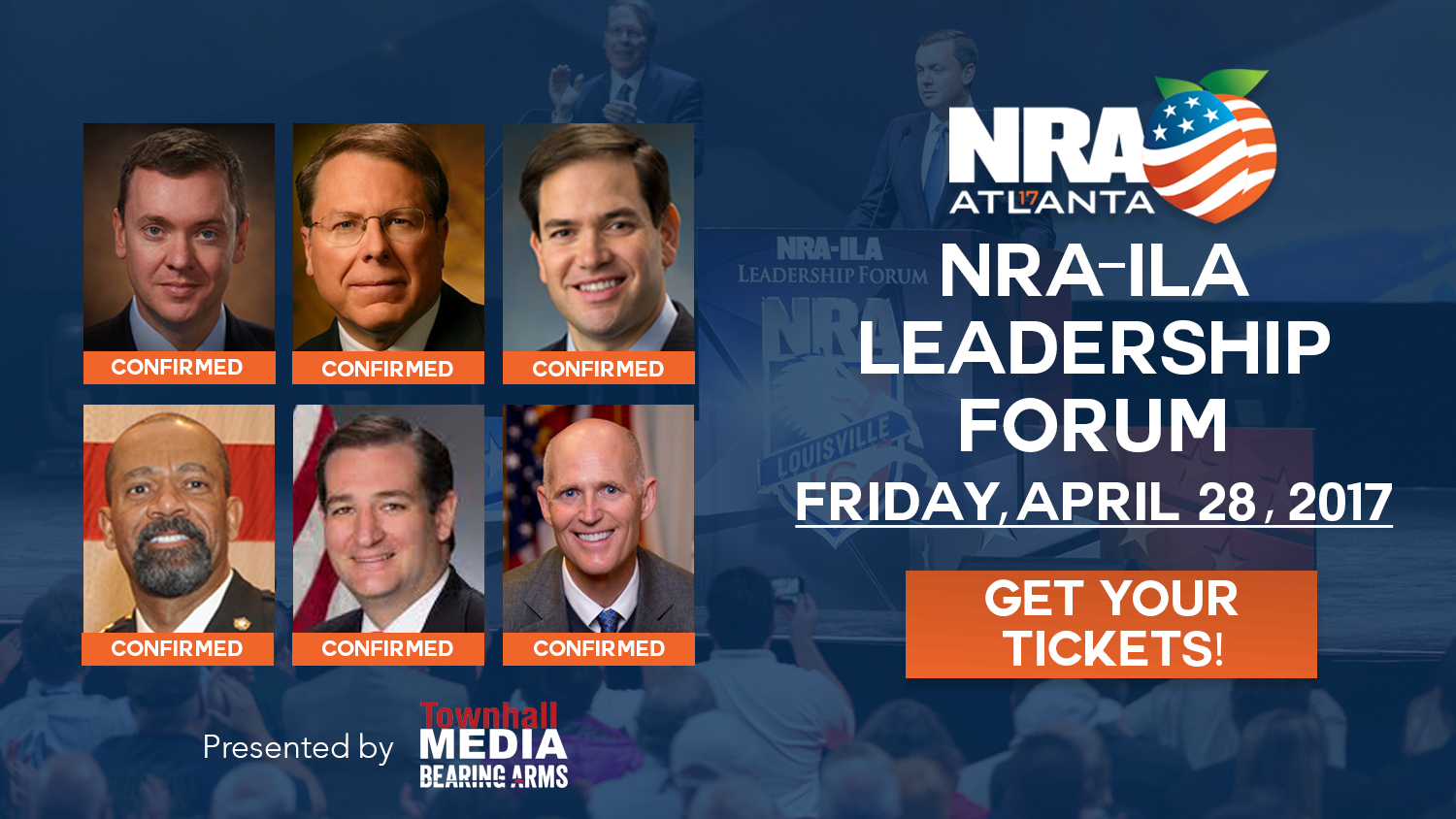 Join us on Friday, April 28, for the NRA ILA Leadership Forum!