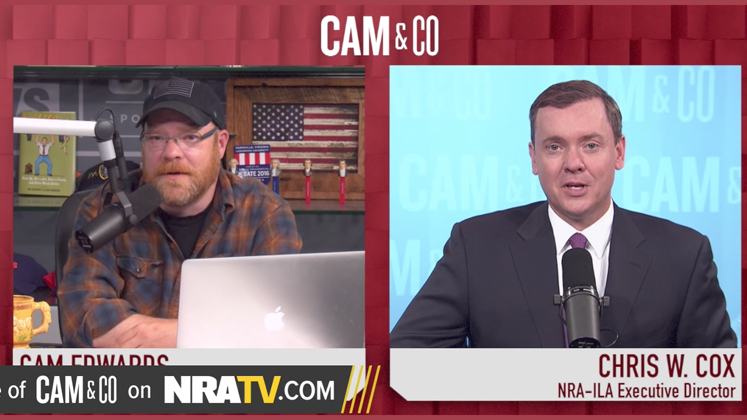 Chris W. Cox on the NRA Annual Meetings