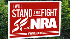 Display an NRA-ILA™ Yard Sign