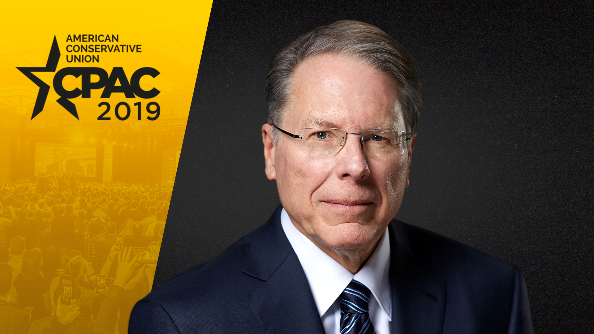 WATCH ▶ Wayne LaPierre's Speech at CPAC