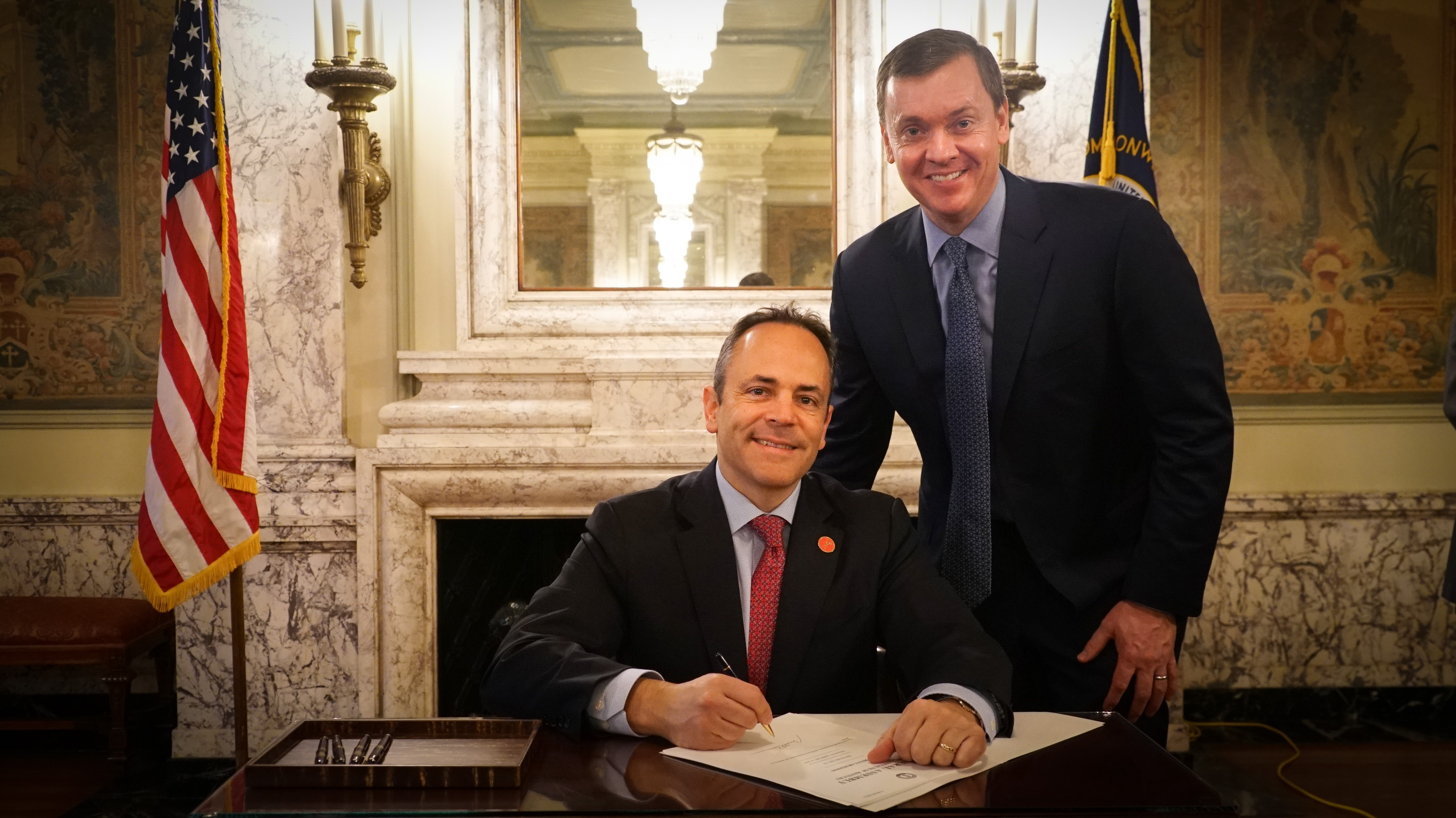 NRA-ILA Executive Director Chris Cox Meets with Governor Bevin in Kentucky