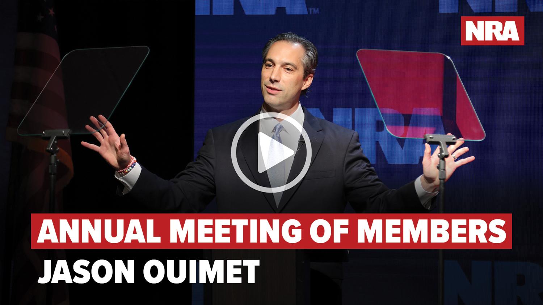 NRA-ILA Jason Ouimet Speech | 2020 Annual Meeting of Members