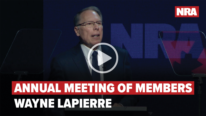 NRA Wayne LaPierre Speech | 2020 Annual Meeting of Members
