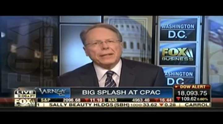 Wayne LaPierre on Fox Business Varney & Co