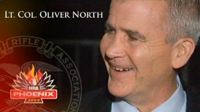 Oliver North: 2009 Meetings