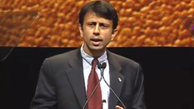 LA Governor Bobby Jindal at 2008 Members Meeting