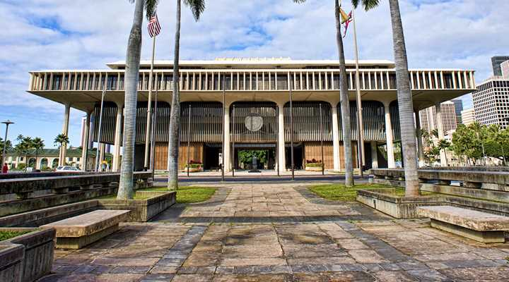 Hawaii: Legislature in Recess