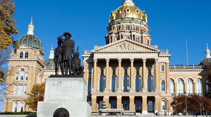 Iowa: Legislature to Reconvene, Range Protection & Preemption Bill Still In Senate