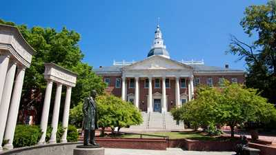 Maryland: General Assembly Adjourns Early