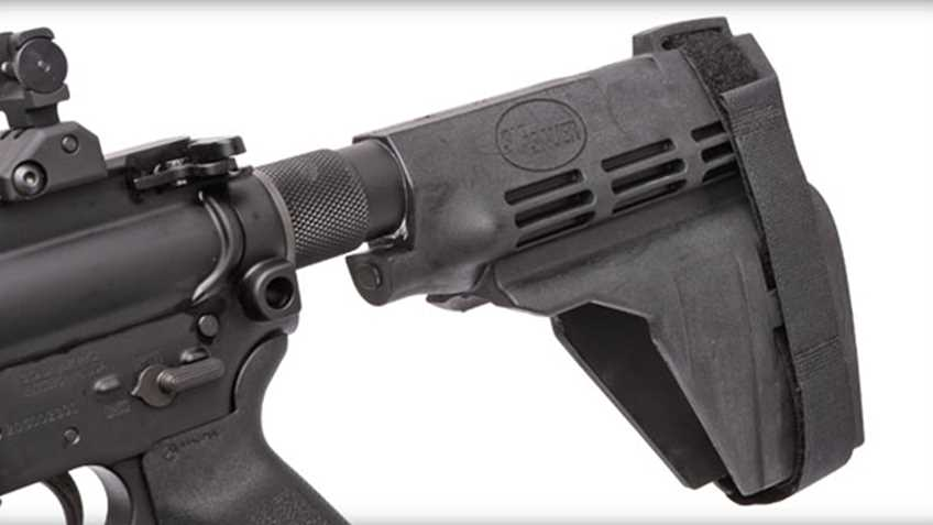 "Another Week, Another Executive Gun Control Action: BATFE Reverses Prior Position on Pistol ""Stabilizing Braces"""
