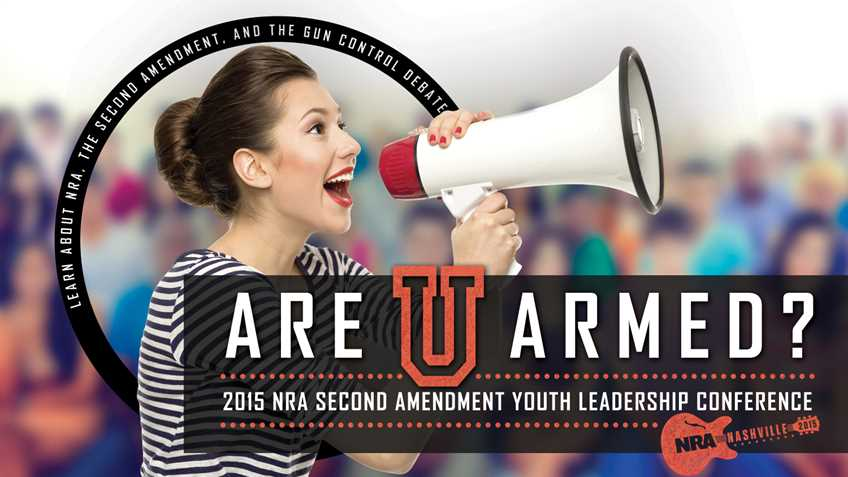 You are the Future of the Second Amendment!  Take Control Now!