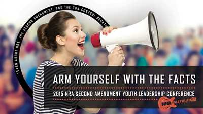 Last Chance! Inaugural Second Amendment Youth Leadership Conference!