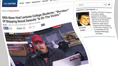 Warped View of Reality: Campus Carry Opponents Equate Self-Defense to Blaming Victims