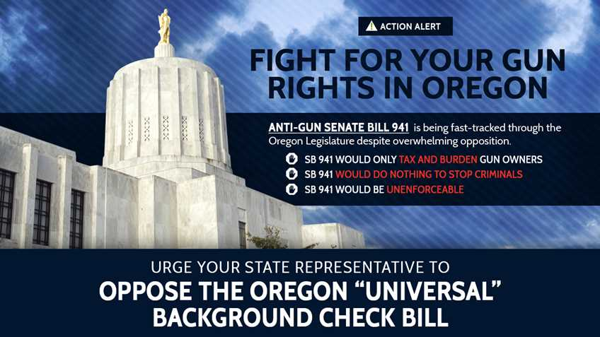 Oregon: Bill to Expand Background Checks Headed to House Floor