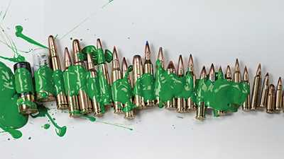 "Green Means ""Go"" To Ban All Ammo"