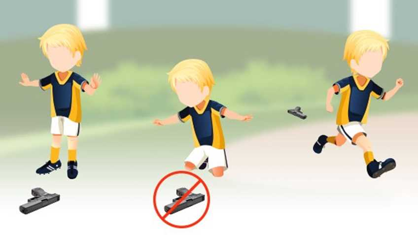 INFOGRAPHIC: Does Your Child Know What to Do if He or She Finds a Gun?