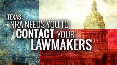 Texas: Impending Deadline Looms for Open Carry Legislation, Call your Legislators Now