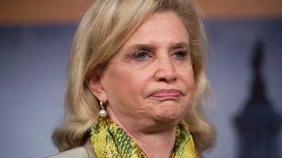Rep. Carolyn Maloney Flies Anti-gun Flag in U.S. House
