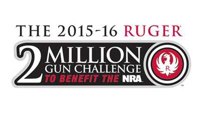 "Ruger's ""2 Million Gun Challenge"" to Benefit NRA-ILA"