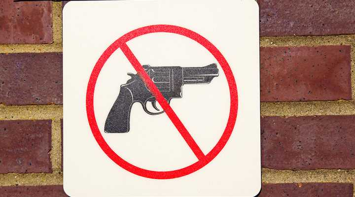 "Washington: ""Gun-Free Zone"" Bill on Senate Floor"