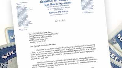 NRA Applauds Congressman Johnson for Swift Action on Social Security Gun Grab