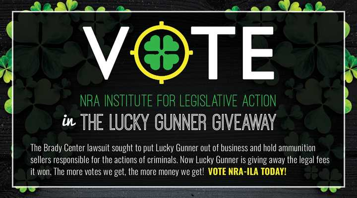Vote for NRA-ILA to Help it Beat the Anti-Gunners!