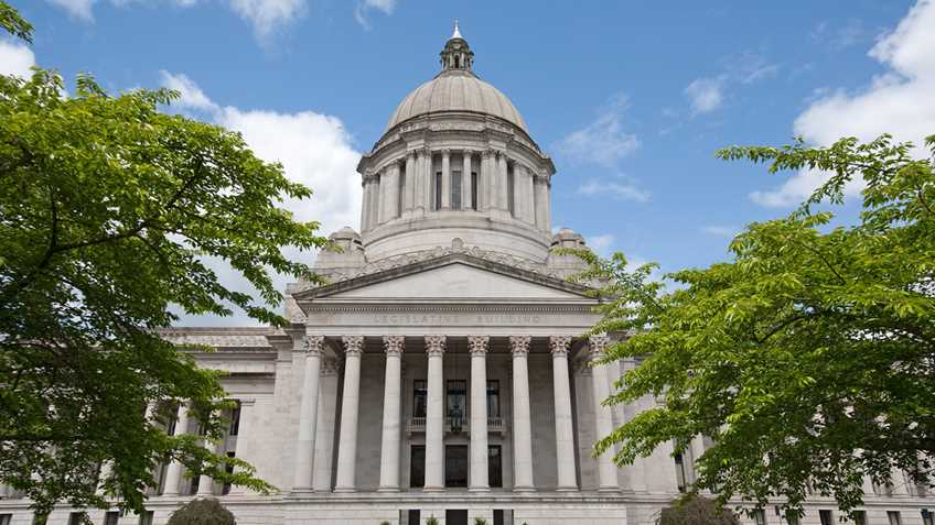 Washington: Legislature Adjourns Sine Die