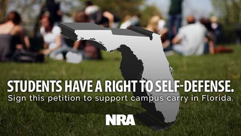 Pledge to Support Campus Carry in Florida