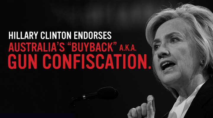 Hillary Clinton: Australia-Style Gun Confiscation 'Worth Considering' for U.S.