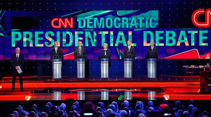 Democratic Debate Race to the Bottom on anti-gun posturing