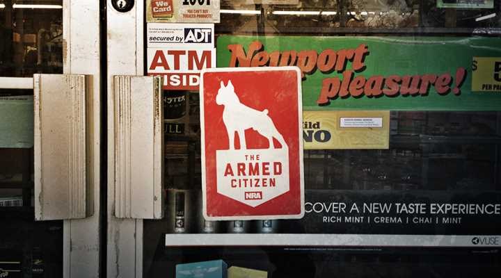 "Armed robber shot by clerk, ""They're supposed to just hand over the money."""