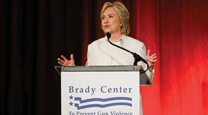 Hillary Clinton Wins Cuomo Award from Brady Campaign