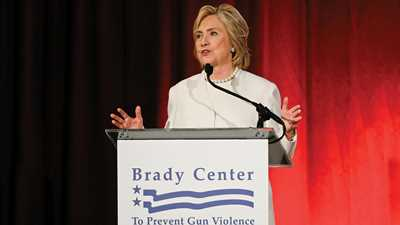 Anti-Gunners Endorse Hillary Clinton for President
