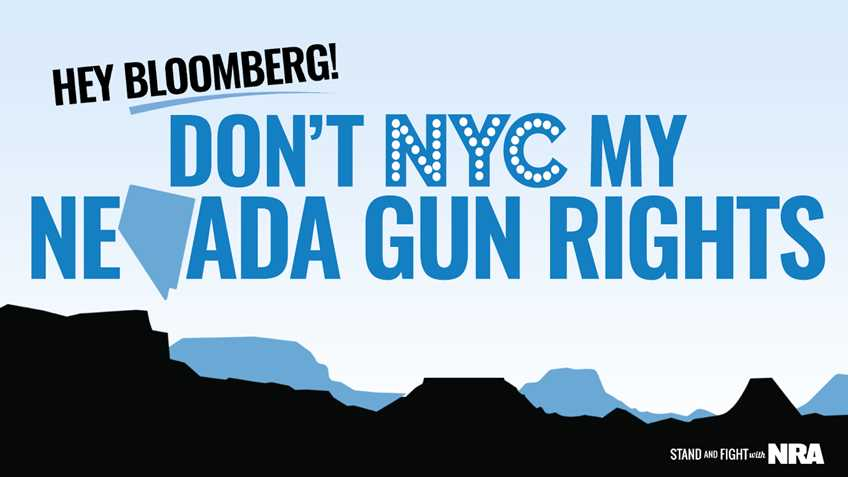 Nevada: Secretary of State Assigns Bloomberg Gun Control Initiative, Question #1 on the November Ballot
