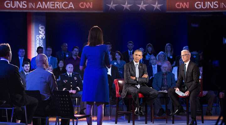 "Obama Misleads, Cites Bogus Data at CNN ""Town Hall"""