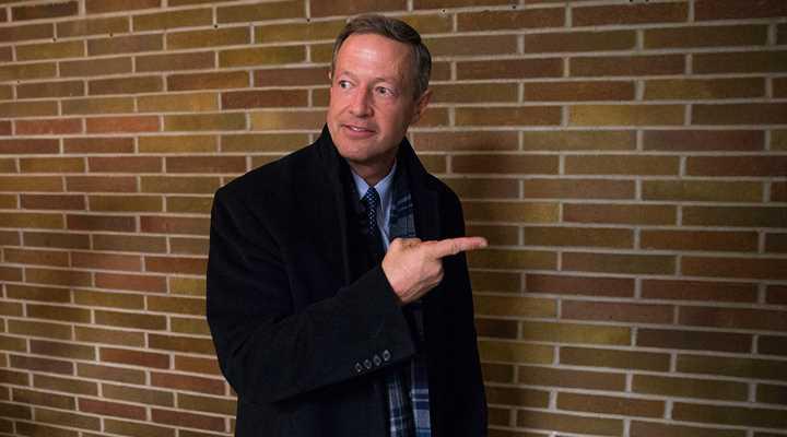 Martin O'Malley: It's a Tough Slog