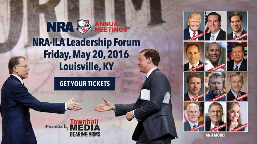 Get Your Tickets to the 2016 NRA-ILA Leadership Forum!
