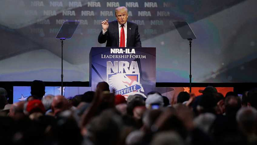 NRA Endorses Donald Trump for President of the United States