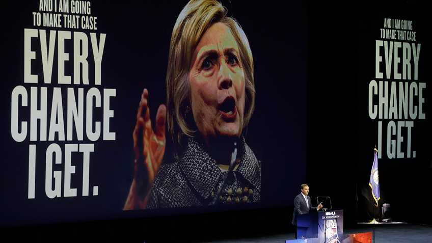 NRA Response to Gun Control Lobby's Endorsement of Hillary Clinton