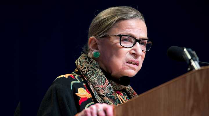 Justice Ginsburg Once Again Shares Her Intent to Overturn Heller