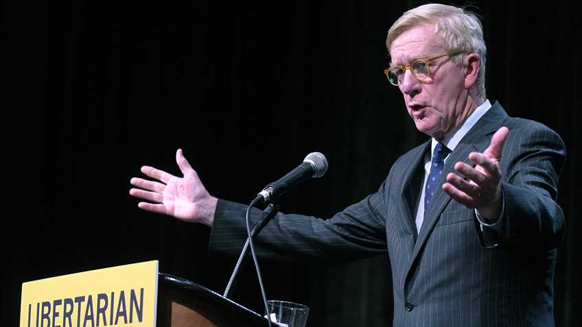 Libertarian VP Candidate William F. Weld Continues to be Anti-Gun