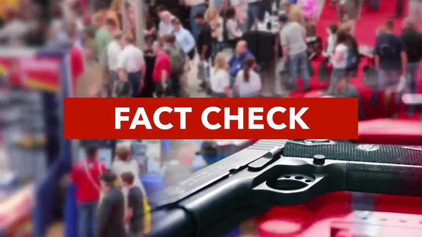 Fact Check: NRA Nevadans for Freedom Fact Checks Gun Control TV Ad