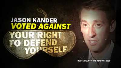 NRA Debunks Jason Kander's Second Amendment Lies in New Ad