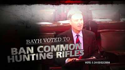 NRA Launches TV Ad Buy to Defeat Bayh