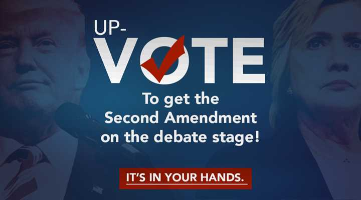Help Us Get the Second Amendment in the Presidential Debate