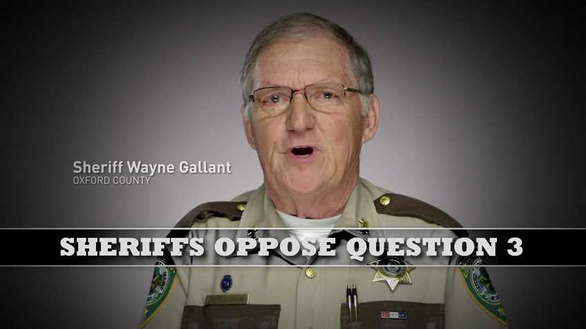 Maine sheriffs make video for NRA opposing ballot measure